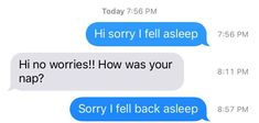 """13 Pictures That Are You If You're Always Texting """"Sorry I Fell Asleep"""" Fall Back, I Fall, Person Falling, Very Sleepy, Text For Him, Want To Be Loved, Funny Texts, How To Fall Asleep, Me Quotes"""