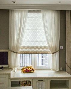 Window Design, Styles, And Inspiration – Voyage Afield Living Room Decor Curtains, Home Curtains, Curtains With Blinds, Vintage Window Treatments, Window Treatments Living Room, Minimal Bedroom, Beautiful Curtains, House Windows, Window Design