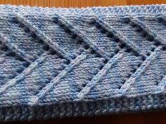 This headband is simple yet attractive using an easy lace pattern. Ideal for keeping your ears warm on a cold day or as an attractive accessory all year round. The pattern is both written and charted. It is worked flat and then seamed at the end although you could easily use a provisional cast on and work a Kitchener stitch to graft it together if you prefer.