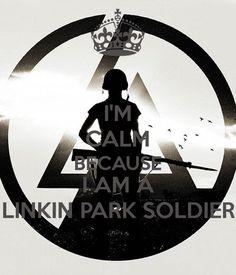 I'm Calm A LP Soldier lp