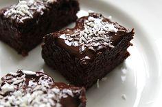 Gezonde brownies (glutenvrij, suikervrij en lactosevrij) | Beginspiration