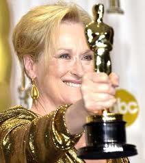 Meryl Streep wins as The Iron Lady