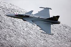 Saab Gripen E combat aircraft