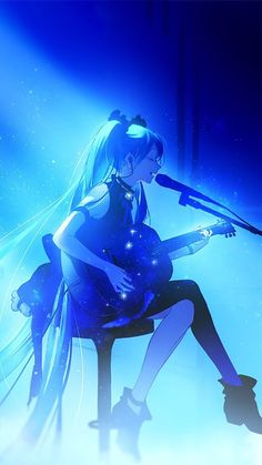 Immagine di anime, anime girl, and hatsune miku