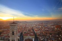 Good look at the city from high up: Pay to climb to the top of either the Duomo of Florence's Cathedral of Santa Maria del Fiore (shown above) or Giotto's Bell Tower. A free option is to visit Piazzale Michelangelo.