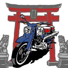 #triton#matchless#ajs#british#royalenfield#vincent#tonup#caferacer#rockers#leatherjacket#illustration#graphicart#rockabilly#punk#bike#motorcycle#bsa#norton#triumph#kamu666#honda#yamaha#suzuki#神社仏閣