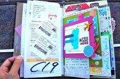 My #amytangerine daybook @ insidethecraftersstudio.com