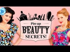 Join Pin-up pals Elly Mayday and Stela Licina in this part 1 of 3 Hair and Make-up tutorial. Shot right in Elly Mayday's bedroom, watch and learn their insider trade secrets! In this first episode, learn about setting pin curls and other hair tips
