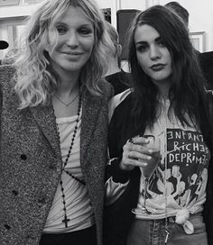 Courtney and Frances
