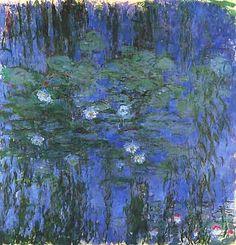 "Claude Monet, ""Nymphéas (Ninfee)"", 1916-19, Musée d'Orsay, Parigi (Paris)"