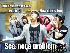 Lee Joon what are you doing? Also has MBLAQ Seungho and B2ST's Yoseob & Kikwang.