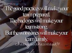 Cheerleading family.
