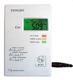 Unser Luftqualitätsmonitor LQ2-CO2-B331 misst zuverlässig und präzise die Raumluftqualität. Relative Humidity, Cooking Timer, Ultrasound, Fireplace Heater