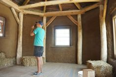 Straw Bale & Timber Frame House 01
