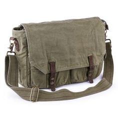 Vintage Messenger Bag, Laptop Messenger Bags, Canvas Messenger Bag, Canvas Leather, Suede Leather, Vintage Canvas, Canvas Shoulder Bag, Clothing Items, Fashion Bags