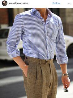 Formal Men Outfit, Smart Casual Outfit, Casual Outfits, Men Casual, Fashion Outfits, Men Trousers, Mens Dress Pants, Men Dress, La Mode Masculine