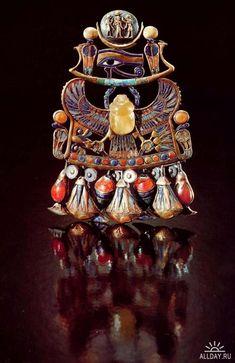STUNNING ANCIENT EASTERN PRIESTESS LOOK STATEMENT NECKLACE DESSERT PRINCESS