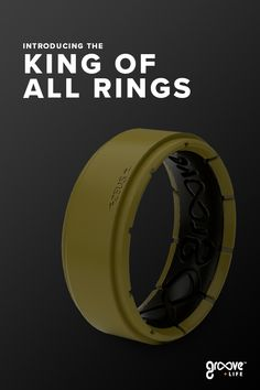 Introducing The Ultra-Tough Zeus Ring From Groove Life. 3 bands fused into one to create THE ultimate silicone ring. Wedding Men, Wedding Bands, Silicone Rings, Wood Rings, Cool Things To Buy, Watches For Men, Rings For Men, Mens Fashion, Create
