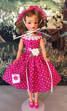Tammy Doll, Dolly Doll, Vintage Games, Vintage Toys, Selling Used Clothes, Handmade Clothes, Sell On Etsy, Fashion Dolls, Sewing Crafts