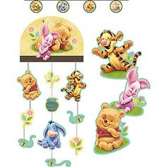 BABY POOH & FRIENDS DECORATING KITBABY POOH & FRIENDS DECORATING KIT #timelesstreasure