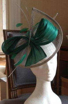 Facinator Hats, Fascinator Headband, Fascinators, Headpieces, Fancy Hats, Cool Hats, Sisal, Ascot Hats, Millinery Hats