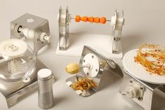3ders.org - Gareth Ladley's 3D printed bespoke kitchen tools for chefs to revolutionize idling kitchen technology | 3D Printer News & 3D Printing News
