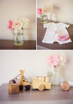 cute nursery details from home