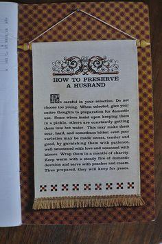 How To Preserve a Husband: Ball Blue Book (1974)