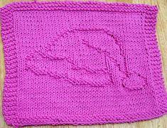 Santa's Hat Dishcloth pattern by Lisa Millan