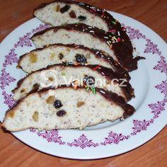 Bílkový chlebíček s oříšky a rozinkami recept - Vareni.cz Pancakes, Breakfast, Food, Morning Coffee, Essen, Pancake, Meals, Yemek, Eten