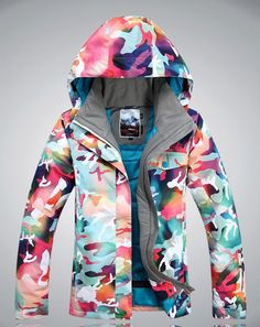 Looking for Women's Insulated Waterproof Ski & Snowboard Jacket Bright Colored Windproof Snow Coat ? Check out our picks for the Women's Insulated Waterproof Ski & Snowboard Jacket Bright Colored Windproof Snow Coat from the popular stores - all in one. Best Snowboard Jackets, Ski And Snowboard, Suits For Women, Jackets For Women, Lightin The Box, Oufits Casual, Rain Jacket Women, Ski Wear, Sport Outfits