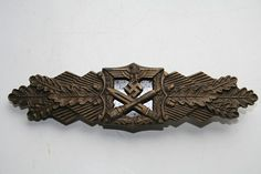 WW2 GERMAN BRONZE CLOSE COMBAT AWARD (also came in gold and silver)