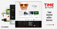 Time v4.5.2 – Responsive WordPress Theme