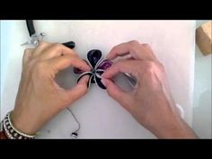 ▶ Broche flor cápsula nespresso - YouTube