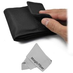 3 Pocket Filter Case (Wallet Pouch) for Circular Filters + Premium MagicFiber Microfiber Cleaning Cloth by Goja. $6.49. - New Filter pouch 3 piece- Equipped with three slots to hold filter lens.- Filter Wallet THREE pocket case pouch for circular filters up to 72mm wide and 100mm tall.- It adds greater convenience and ease in many shooting situations.- Easy to carry, great for field work.- Leave brittle plastic filter cases at home and instead carry your 3 favourite filter...