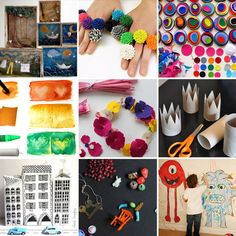 The best Pinterest users to follow for kids' craft ideas. #PopSugarMoms