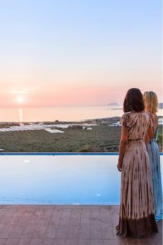Enjoy the amazing Cretan sunsets by the pool! #crete #greece #chania #summer #vacations #holiday #travel #sea #sun #sand #nature #landscape #island #TheHotelgr #villa #olive #courtyard #nature #view  #holidays #travelling #instatravel #pool #pinterest