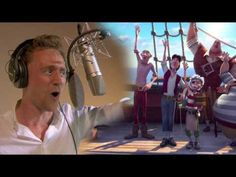 This clip of Tom Hiddleston recording a song for the new Disney movie The Pirate Fairy is almost too much to handle. | You Need To Watch This Video Of Tom Hiddleston As A Singing Pirate