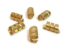 Buy 2 packs GET THE 3rd FREE Pack of 6 Gold Cuff by MedusasSecret
