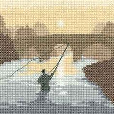 Silhouettes Cross Stitch Kit By Heritage Crafts Cross Stitch House, Cross Stitch Art, Cross Stitch Designs, Cross Stitching, Cross Stitch Embroidery, Cross Stitch Patterns, Cross Stitch Silhouette, Heritage Crafts, Cross Stitch Landscape