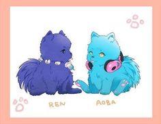 Aoba & Ren from Dramatical Murder - cuteness overload ~~~ Cute Anime Pics, Awesome Anime, Art Manga, Manga Anime, Manhwa, Anime Group, Dramatical Murder, Kawaii, Cute Anime Character