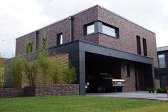 Kubushaus Klinker Hagemeister Lübeck, Trespa Ral 7016