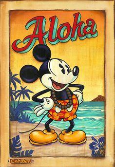 Love it! Aloha Mickey!