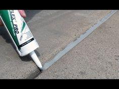 Akonaflex® Pro Self-Leveling Expansion Joint Filler Repair Concrete Driveway, Concrete Steps, Concrete Driveways, Concrete Projects, Concrete Patio, Concrete Floors, Concrete Filler, Diy Projects, Outdoor Projects