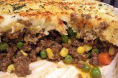 30 Minute Shepherds Pie - a Rachael Ray 30 Minute Dinner Pampered Chef Recipes, Baker Recipes, Pie Recipes, Dinner Recipes, Cooking Recipes, Recipies, Rockcrok Recipes, Salad Recipes, Lamb Recipes