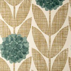 Orla Kiely Flower Blossom Wallpaper - eclectic - wallpaper - Orla Kiely Bathroom?