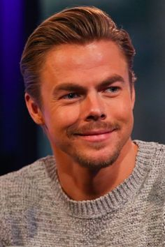 Derek Hough Shares the Cute Way His Sister Helped Him Prepare For Hairspray Live!