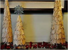 These 26 Christmas Craft Ideas are Easy to Make and Don't Take Up Much Space