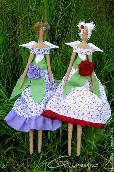 Куклы Тильды ручной работы. Ярмарка Мастеров - ручная работа Тильда-цветочная феечка. Handmade.