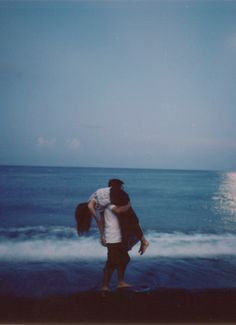 Beautiful Simplicity young love at the beach